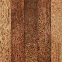 Iroko Worktop upstand, 4m x 75mm x 18mm, Upstands